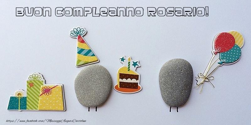 Top Tanti Auguri di Buon Compleanno Rosario! - Cartoline di compleanno  XL45