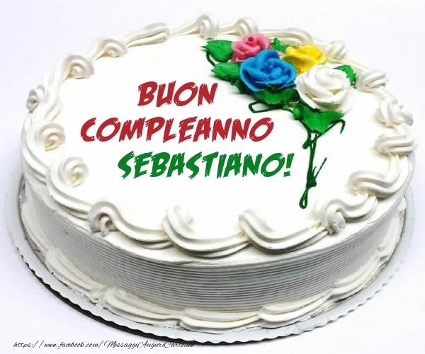 Cartoline di compleanno - Buon Compleanno Sebastiano!