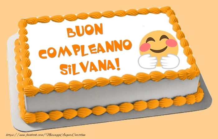 Eccezionale Torta Buon Compleanno Silvana! - Cartoline di compleanno per  HO65