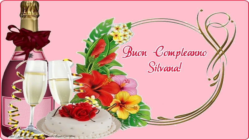 Silvana Cartoline Di Compleanno Messaggiauguricartoline Com