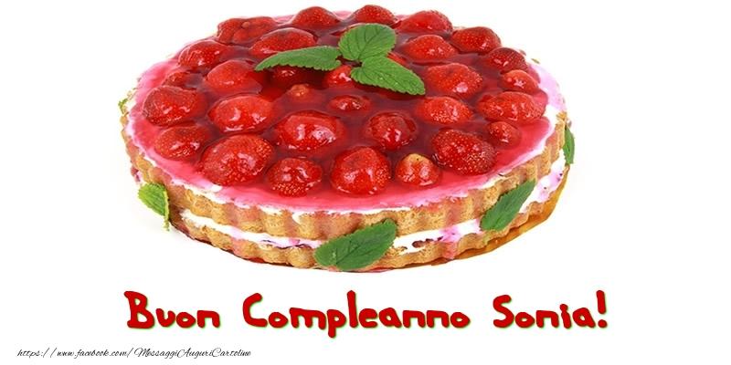 Cartoline di compleanno - Buon Compleanno Sonia!