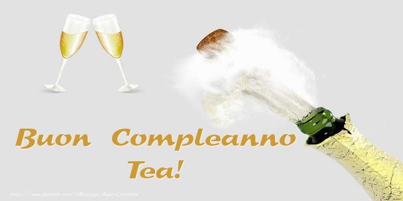 Cartoline di compleanno - Buon Compleanno Tea!
