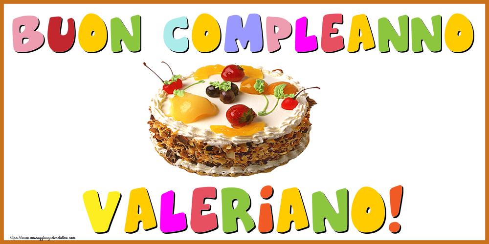 Cartoline di compleanno - Buon Compleanno Valeriano!