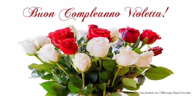 Famoso Tanti Auguri di Buon Compleanno Violetta! - Cartoline di  VL67