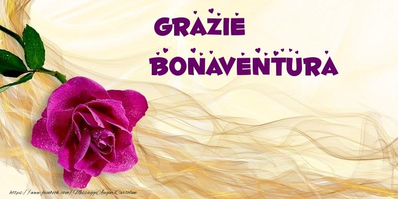 Cartoline di grazie - Grazie Bonaventura