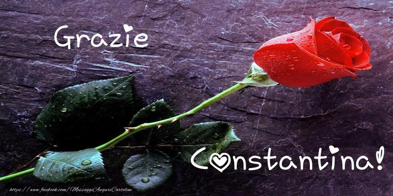 Cartoline di grazie - Grazie Constantina!