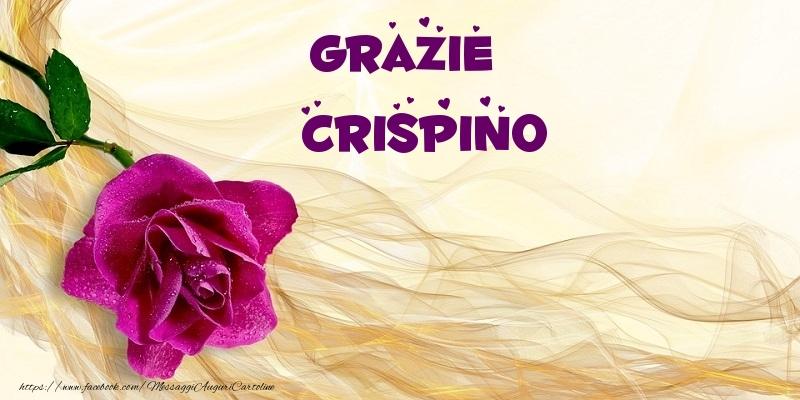 Cartoline di grazie - Grazie Crispino