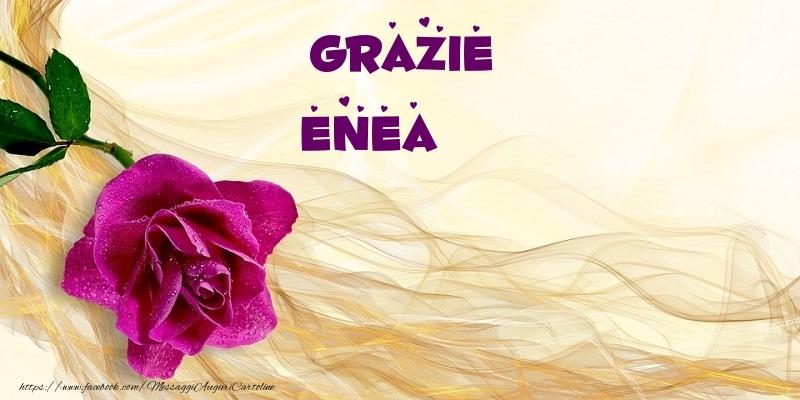 Cartoline di grazie - Grazie Enea
