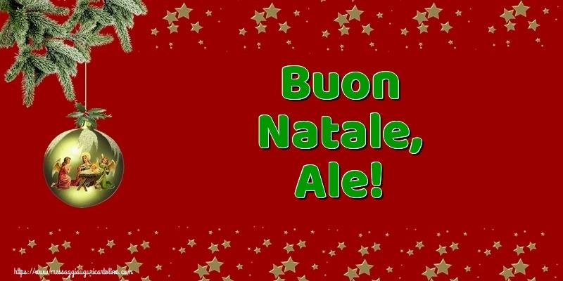 Cartoline di Natale - Buon Natale, Ale!