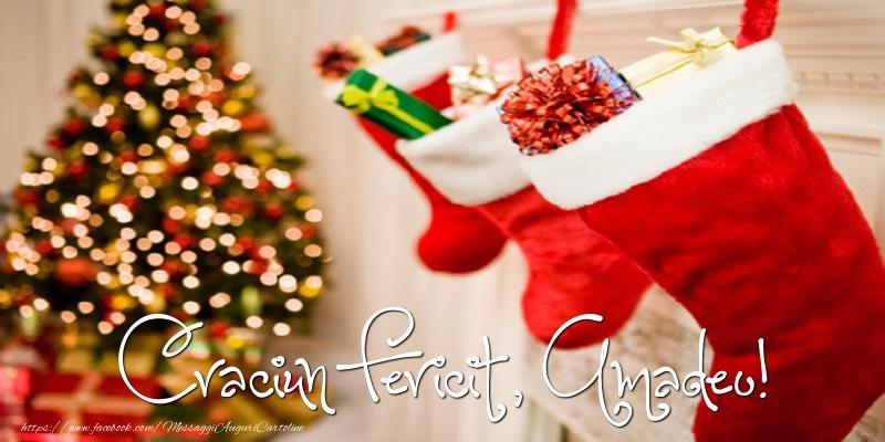 Cartoline di Natale - Buon Natale, Amadeo!