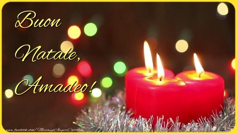 Cartoline di Natale - Buon Natale, Amadeo
