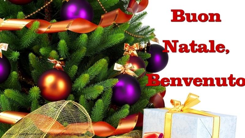 Cartoline di Natale - Buon Natale, Benvenuto