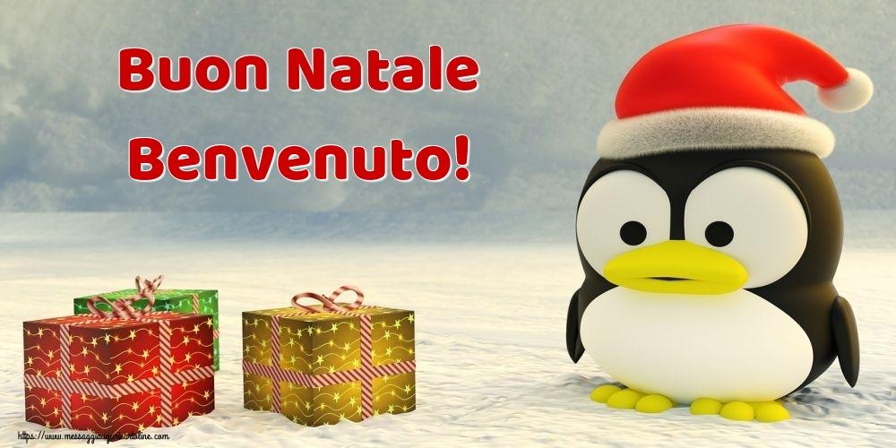 Cartoline di Natale - Buon Natale Benvenuto!