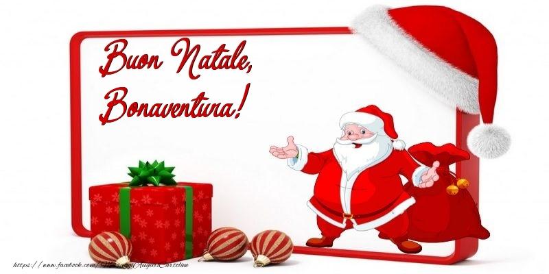 Cartoline di Natale - Buon Natale, Bonaventura