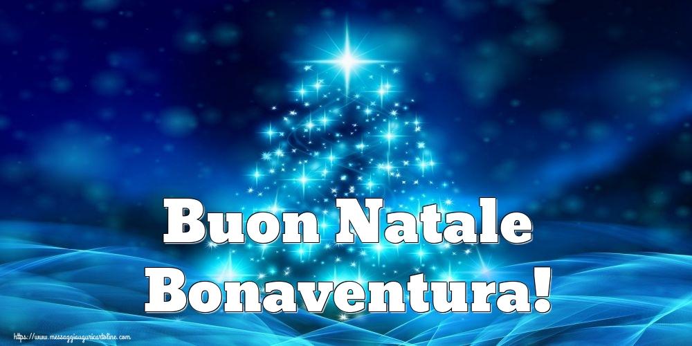 Cartoline di Natale - Buon Natale Bonaventura!