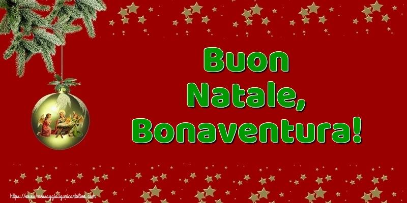 Cartoline di Natale - Buon Natale, Bonaventura!