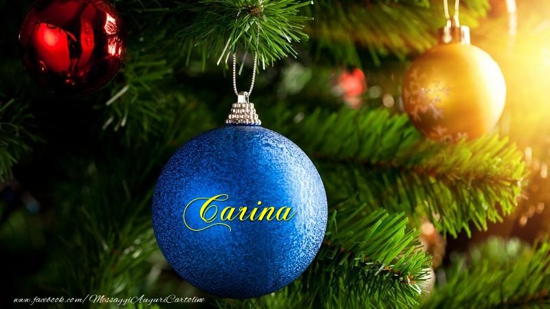 Cartoline di Natale - Carina