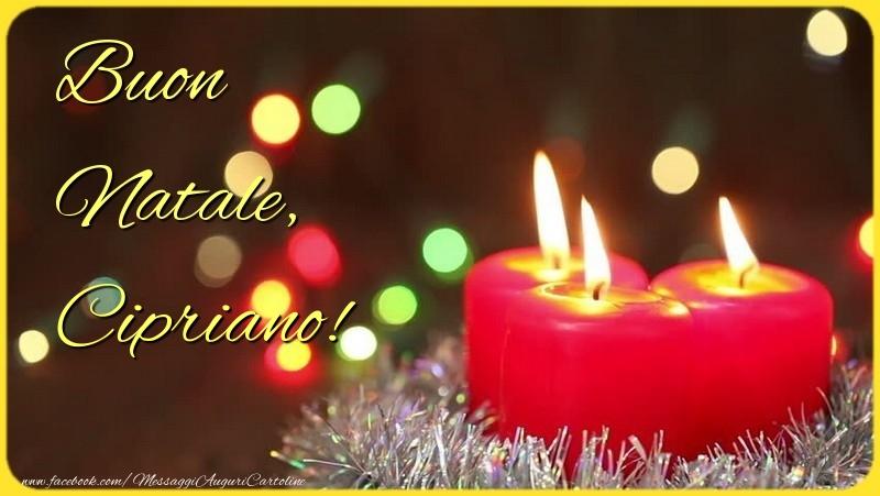 Cartoline di Natale - Buon Natale, Cipriano