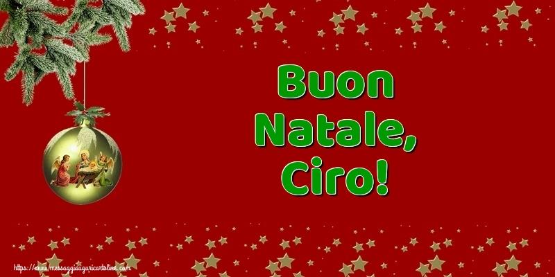 Cartoline di Natale - Buon Natale, Ciro!
