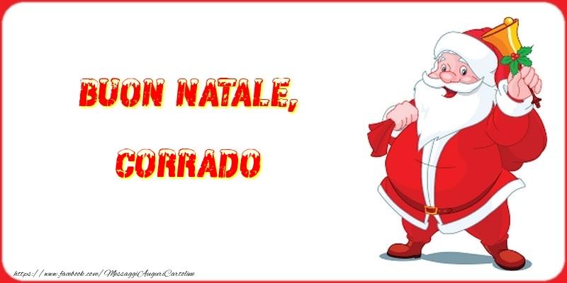 Cartoline di Natale - Buon Natale, Corrado