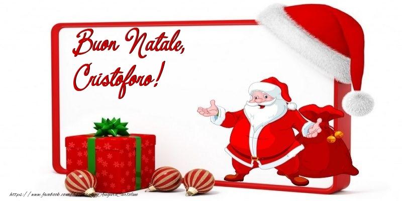 Cartoline di Natale - Buon Natale, Cristoforo