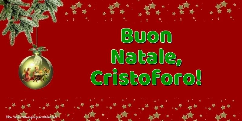 Cartoline di Natale - Buon Natale, Cristoforo!