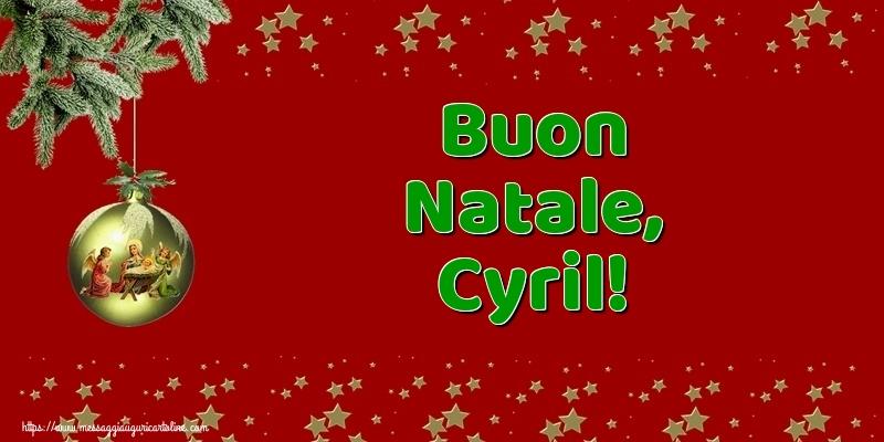 Cartoline di Natale - Buon Natale, Cyril!