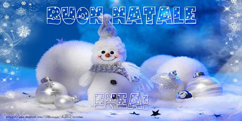 Cartoline di Natale - Buon Natale Enea!