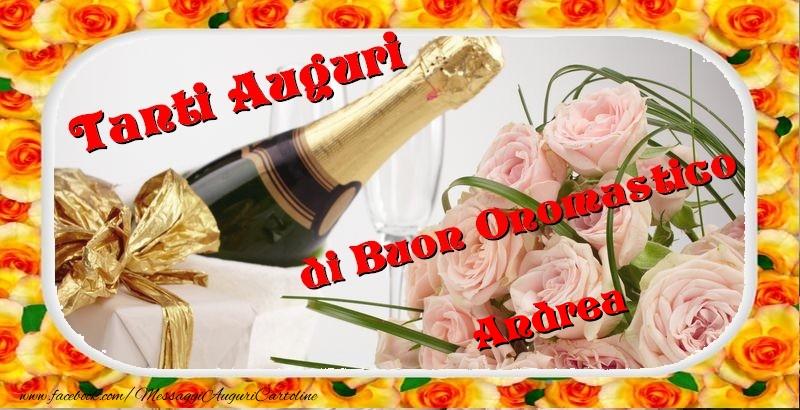 Eccezionale Buon onomastico, Andrea - Cartoline di onomastico per Andrea  ZQ63