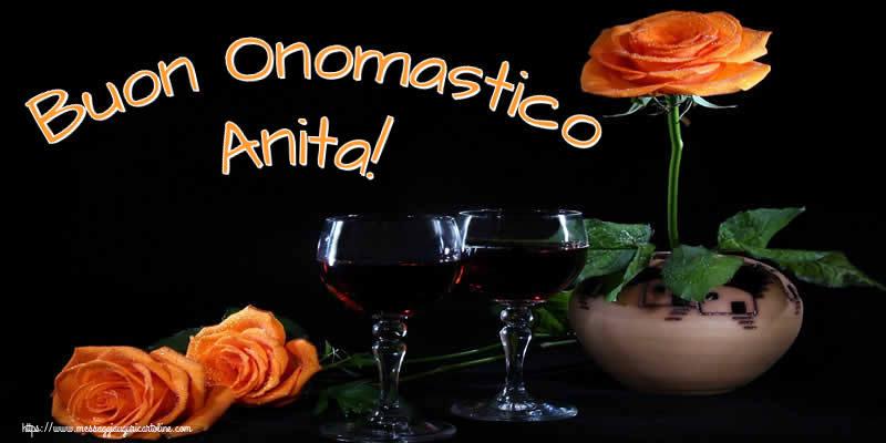 Cartoline di onomastico - Buon Onomastico Anita!