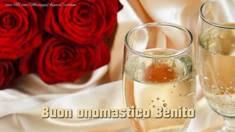 Cartoline di onomastico - Buon onomastico Benito