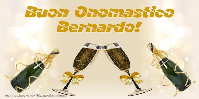 Cartoline di onomastico - Buon Onomastico Bernardo!