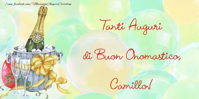 Cartoline di onomastico - Tanti Auguri di Buon Onomastico, Camillo