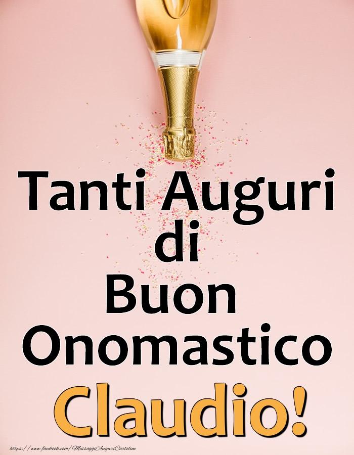 Cartoline di onomastico - Tanti Auguri di Buon Onomastico Claudio!