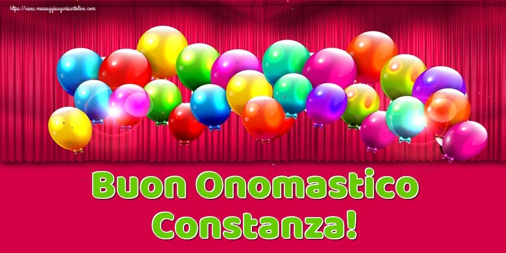 Cartoline di onomastico - Buon Onomastico Constanza!