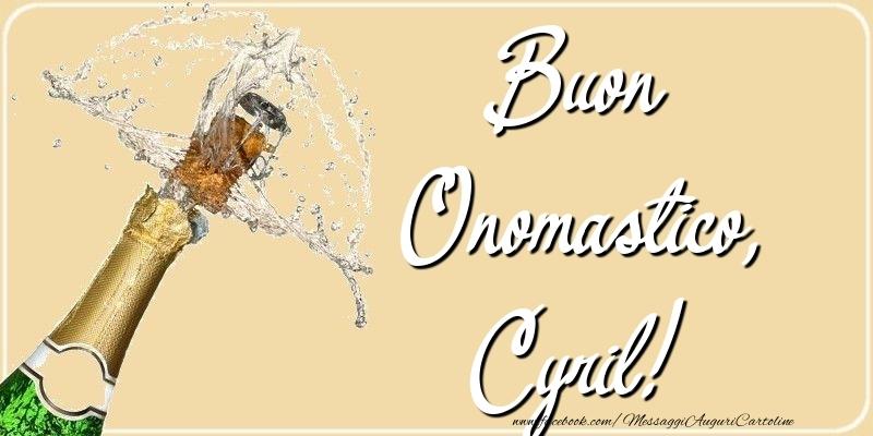 Cartoline di onomastico - Buon Onomastico, Cyril