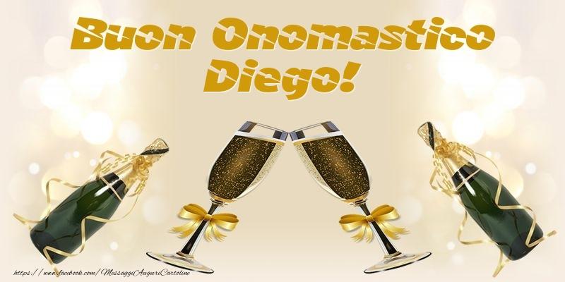 Cartoline di onomastico - Buon Onomastico Diego!