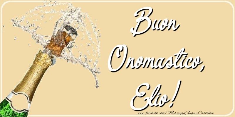 Cartoline di onomastico - Buon Onomastico, Elio