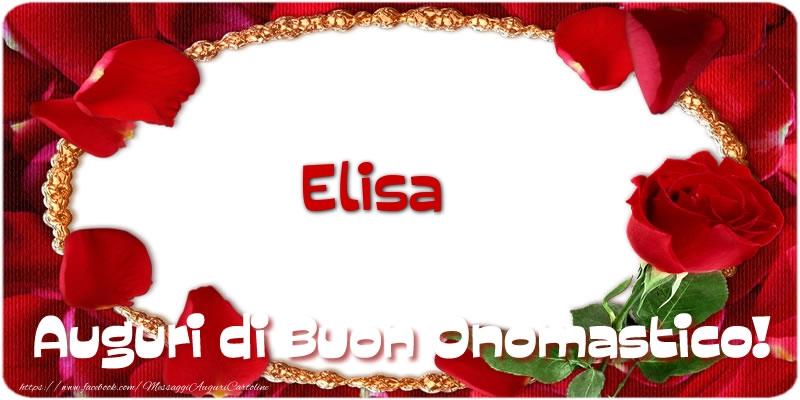 Onomastico Del Nome Elisa