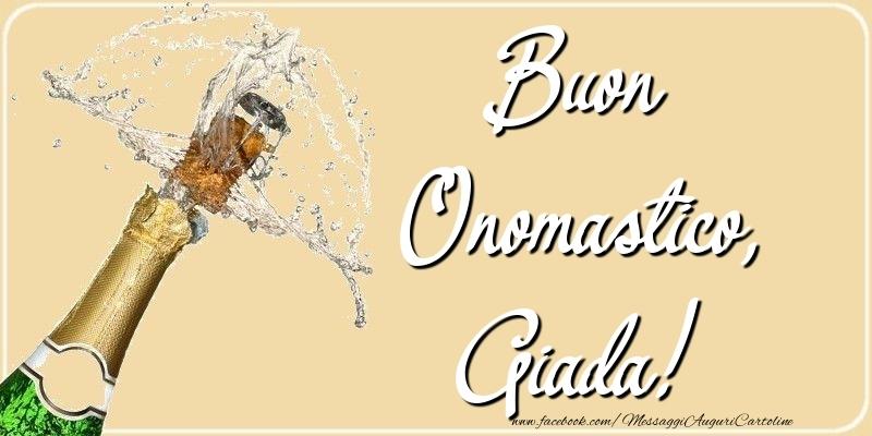 Cartoline di onomastico - Buon Onomastico, Giada