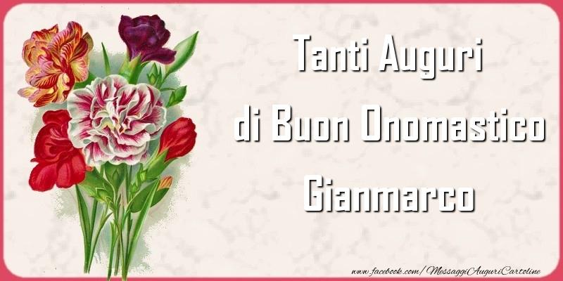 Cartoline di onomastico - Tanti Auguri di Buon Onomastico Gianmarco