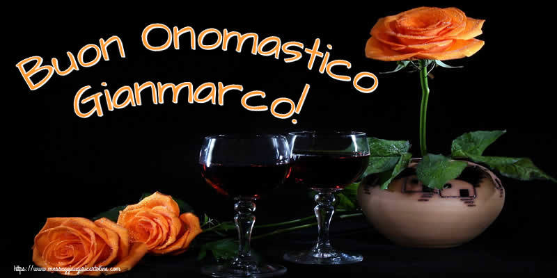 Cartoline di onomastico - Buon Onomastico Gianmarco!