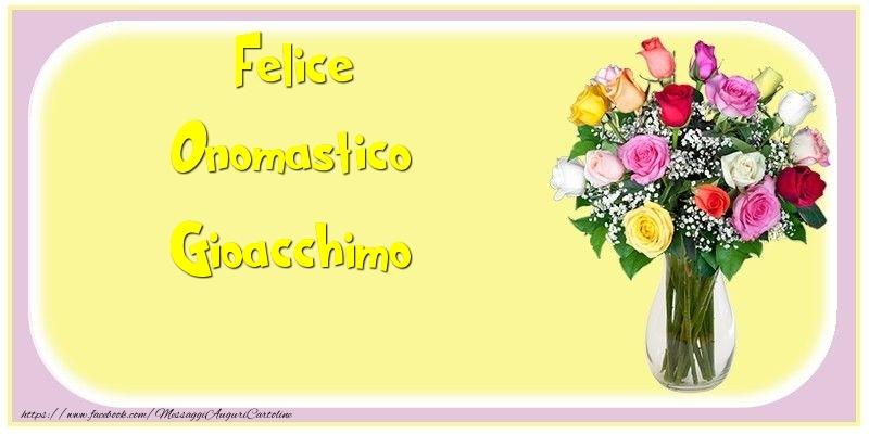 Cartoline di onomastico - Felice Onomastico Gioacchimo