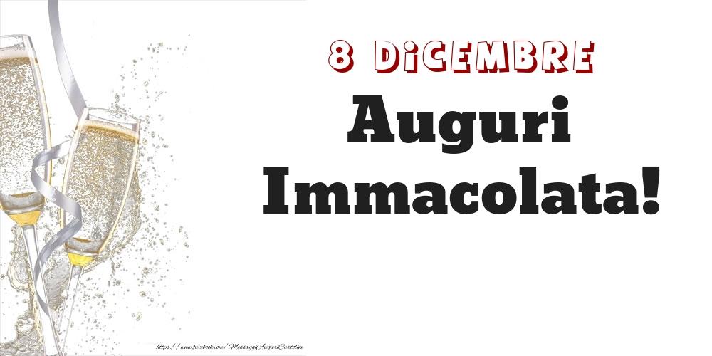 Cartoline di onomastico - Auguri Immacolata! 8 Dicembre
