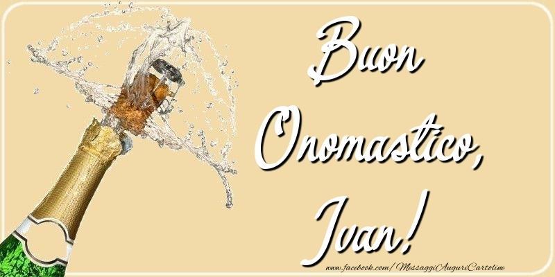 Cartoline di onomastico - Buon Onomastico, Ivan
