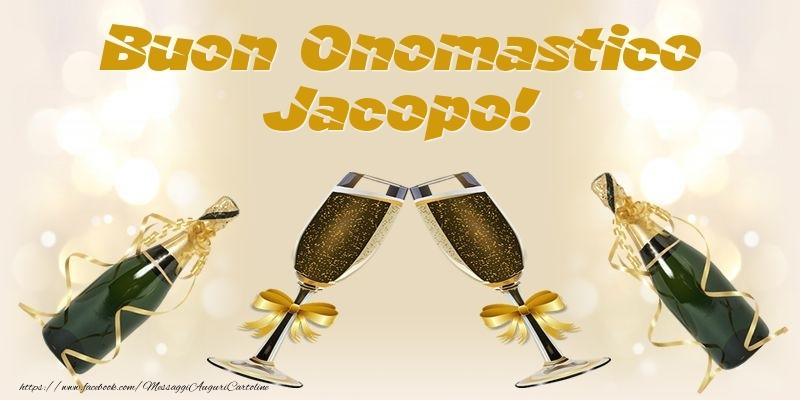 Cartoline di onomastico - Buon Onomastico Jacopo!