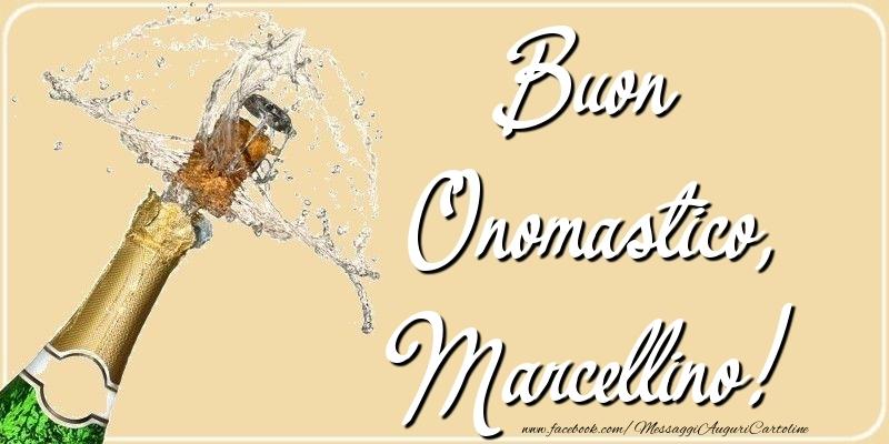 Cartoline di onomastico - Buon Onomastico, Marcellino