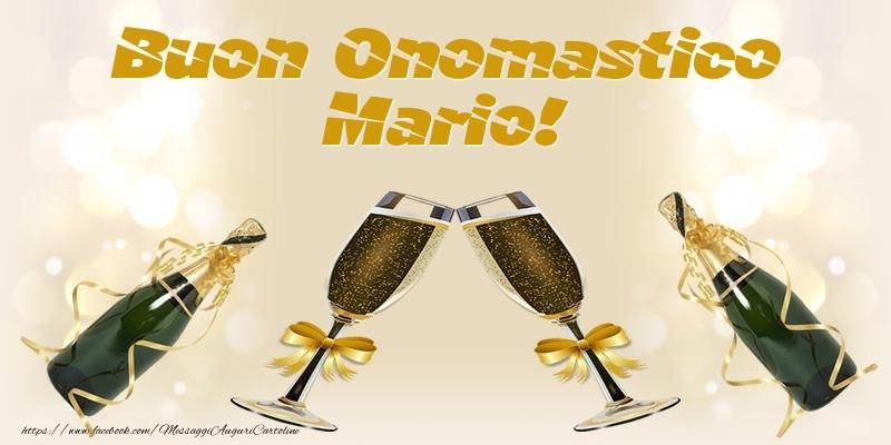 Cartoline di onomastico - Buon Onomastico Mario!