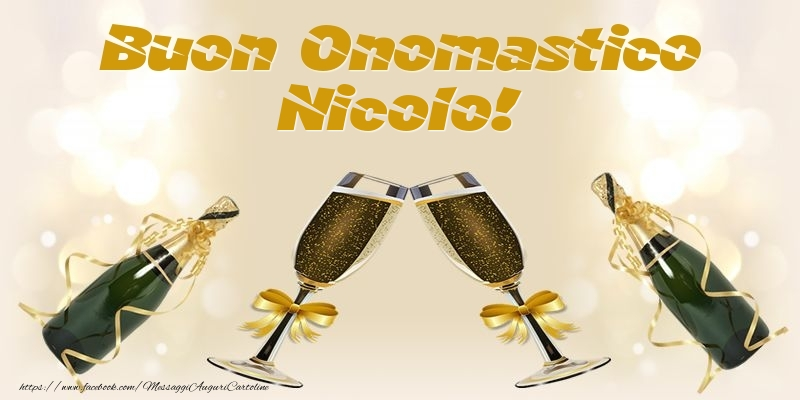 Cartoline di onomastico - Buon Onomastico Nicolo!