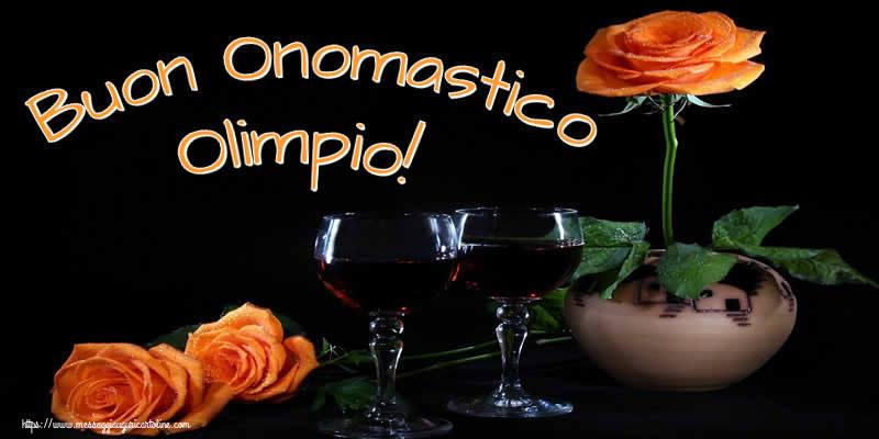 Cartoline di onomastico - Buon Onomastico Olimpio!